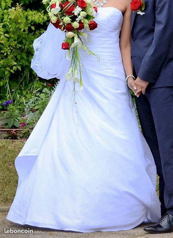 Robe mariée type bustier