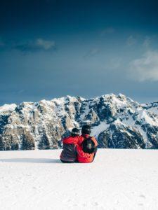 Sport d'hiver voyage de noces