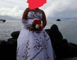 Vends robe de mariée (Tahiti)