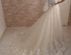 Robe mariée princesse dentelle tulle