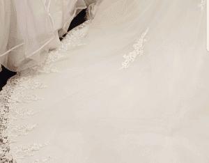 Robe princesse bustier scintillant