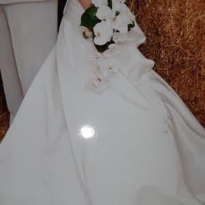 Robe de mariée bustier ivoire