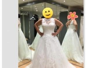 Robe de mariée White One model SARAH T 44