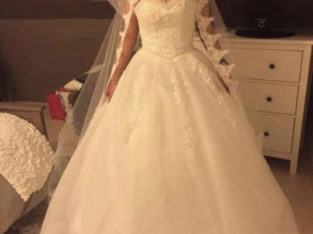 Robe princesse lacée