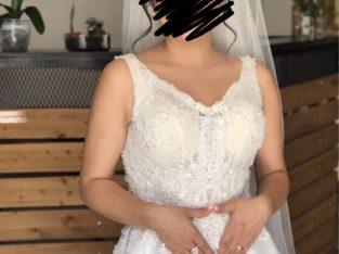 Robe de mariée modèle Hélène taille 36-38