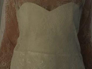 Robe de mariée bohème 2 en 1