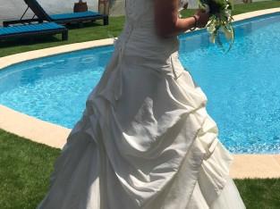 Robe de mariee à lacets