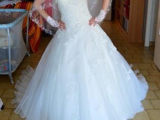 Ma belle robe de mariée