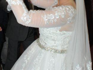 Robe mariée dentelle T38