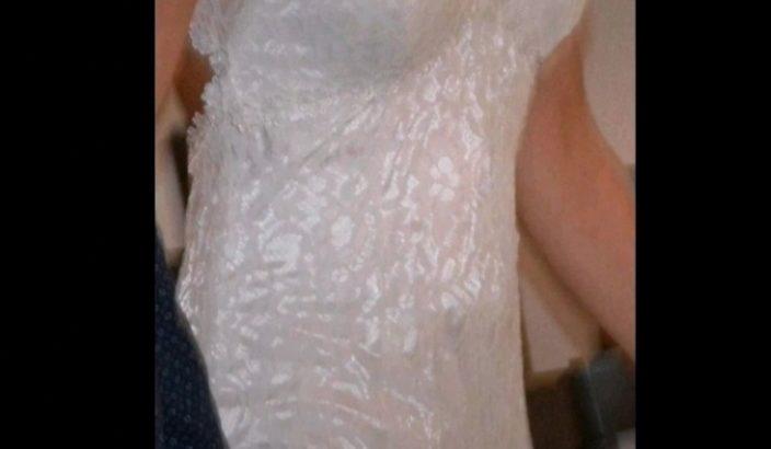 Robe de mariée fourreau 36