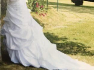 Robe de mariée bustier 36