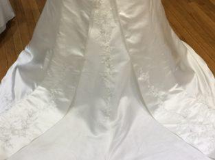 Robe de mariée bustier blanc