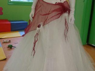 Robe de mariee bustier bicolore