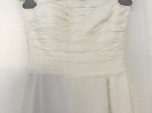 Robe de mariée bustier taille 32/34