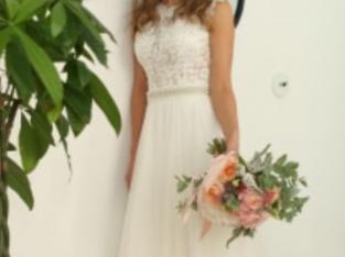 Robe mariée (bustier PRONOVIAS + jupe tulle)