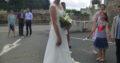 Robe de mariée Cymbeline T36/38 en dentelle de Calais