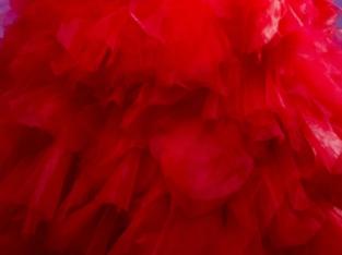 Robe de mariée rouge T40-42 XL