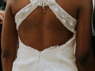 Robe de mariée PRONOVIAS avec dos superbe