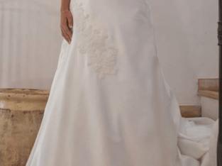 Robe de mariée créateur en très bon état