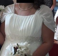 Robe de mariée style greco-romain