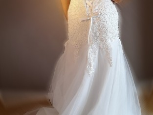 Robe de mariée bustier sirène 36/38/40