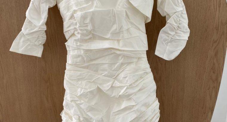 Robe de marié blanche bustier neuve jamais porté