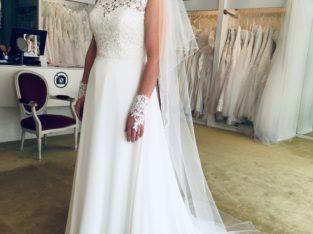 Robe de mariée bohème/champêtre