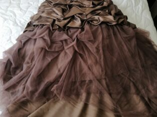 Robe de mariée Miss Paris T38 chocolat