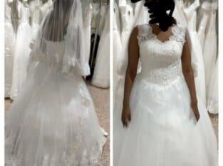 Robe de mariée neuve avec étiquette