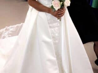 Robe de mariée neuve avec étiquette pronovias