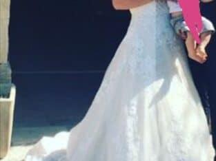 Robe de mariée PRONOVIAS T38